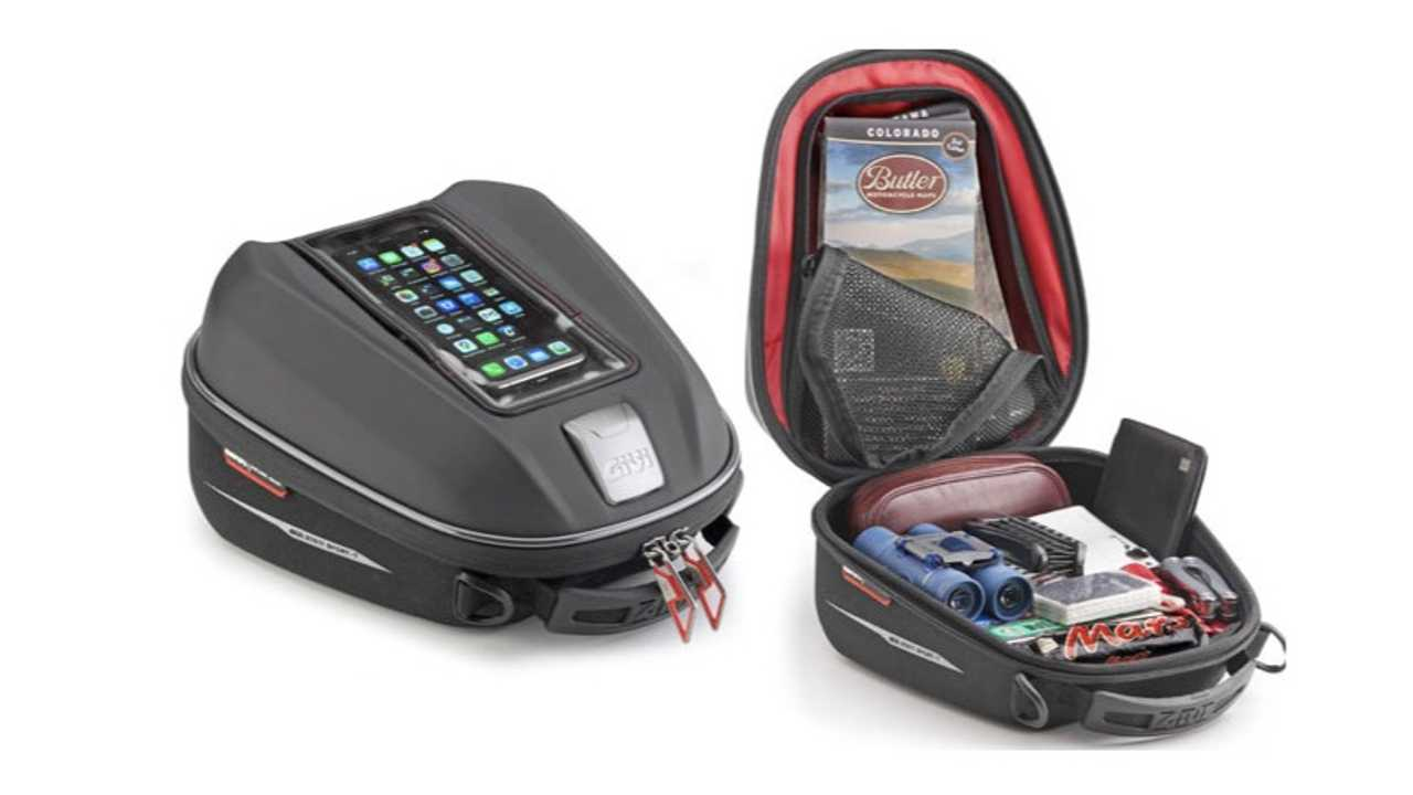 GIVI Launches New And Improved ST 611 Tank Bag