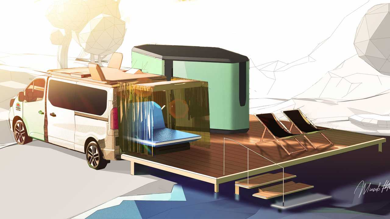 Renault Hippie Caviar Hotel: Luxus-Camper auf Trafic-Basis