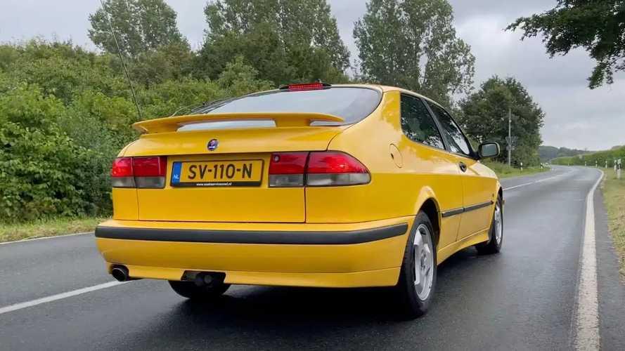 Vídeo: ¡un Saab 9-3 a más de 225 km/h en una Autobahn!
