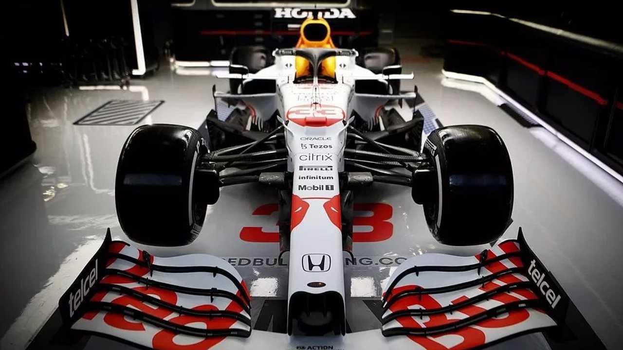 Red Bull Honda tribute livery