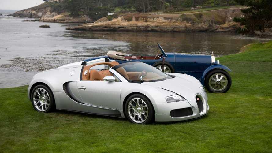 Восстановленный прототип Bugatti Veyron Grand Sport 2008 года