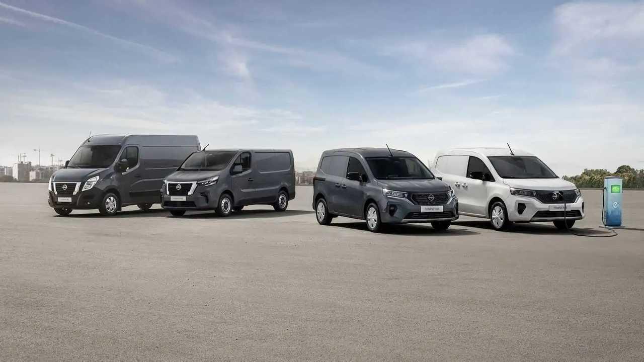 Nissan, la gamma di veicoli commerciali leggeri