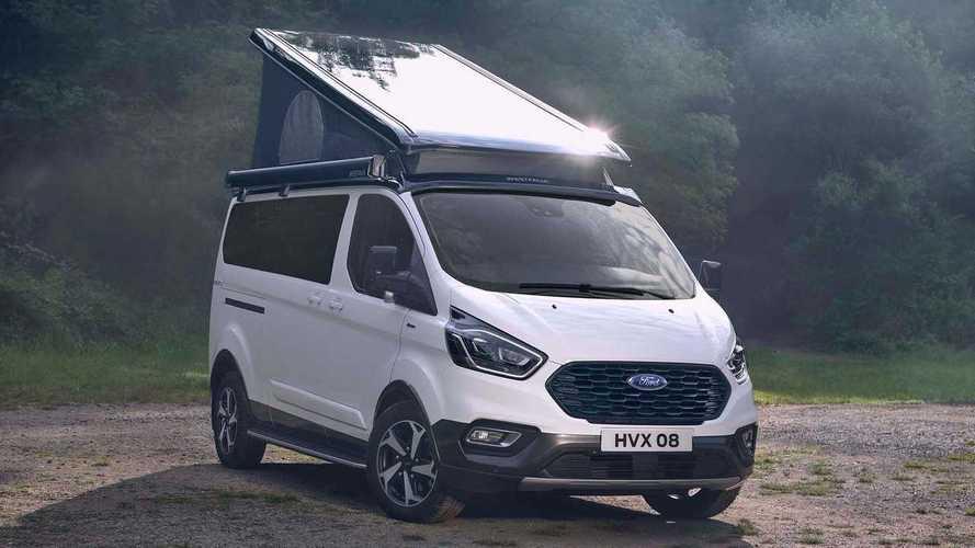 Ford Transit Custom Nugget Active debutta al Salone di Parma