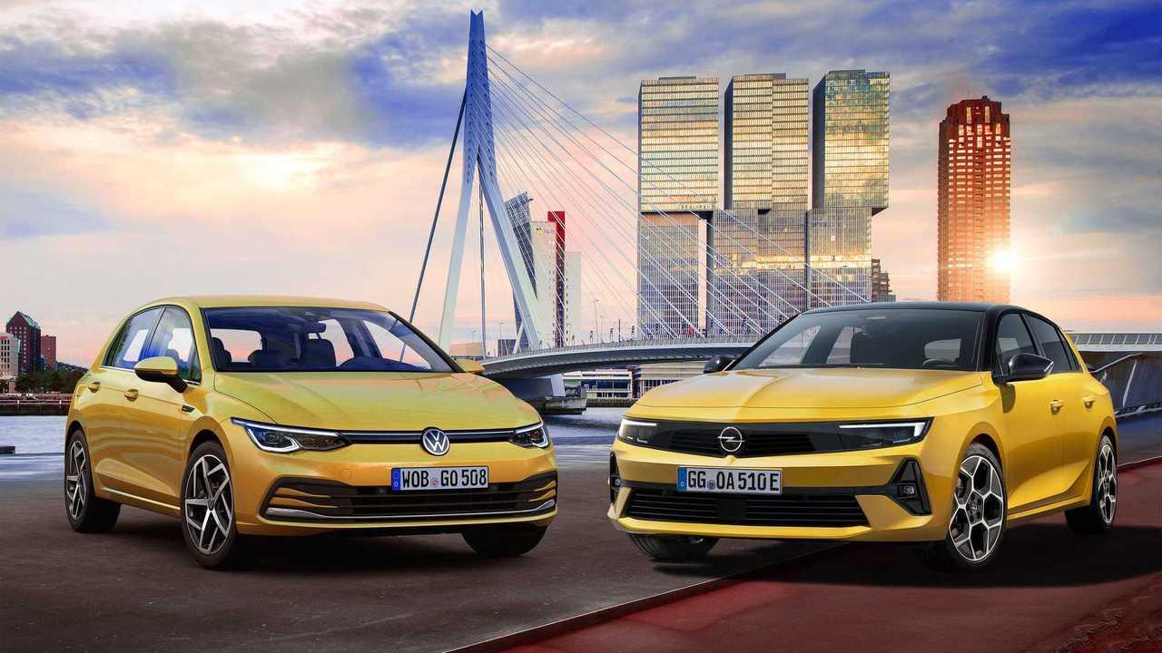 Opel Astra L vs. VW Golf 8