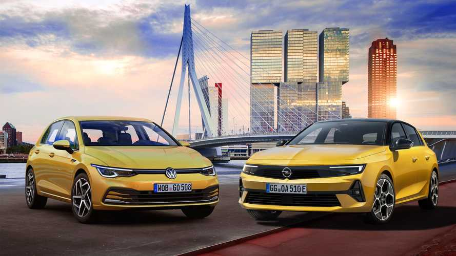 Novo Opel Astra: como o hatch se compara ao Volkswagen Golf