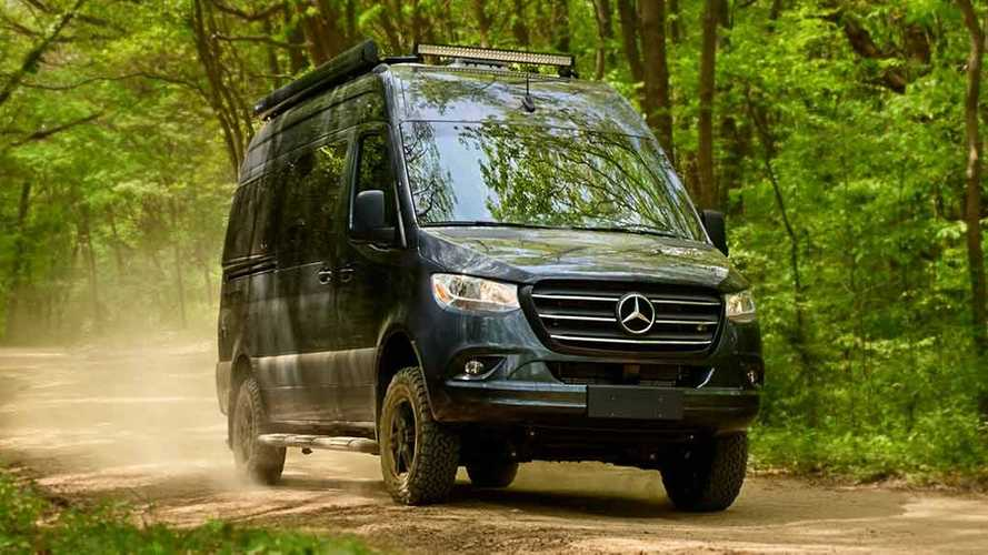 Thor Sanctuary Camper Van Is A Mercedes Sprinter Ready To Get Dirty