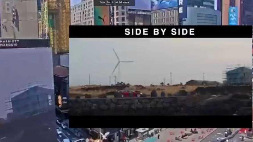 Rejtélyes Tesla-hirdetések bukkantak fel a Times Square-en