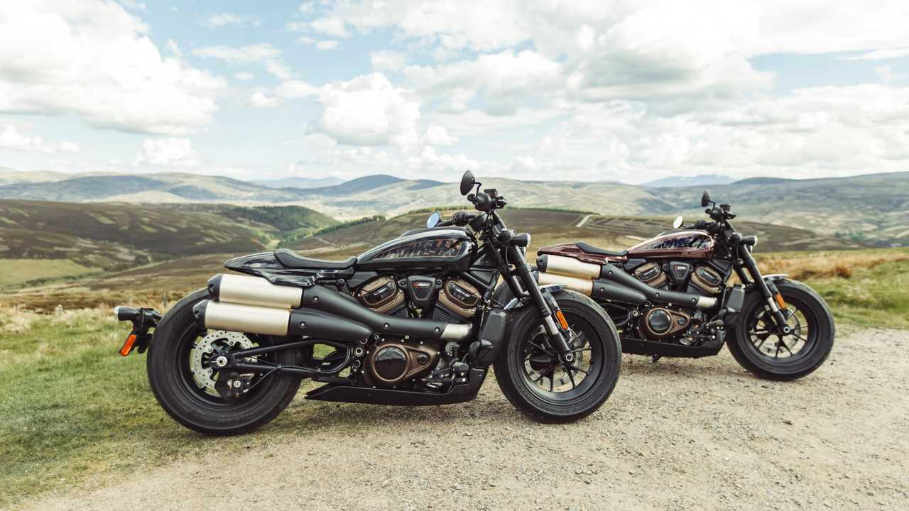 Harley-Davidson zeigt neue Sportster S mit revolutionärem Motor