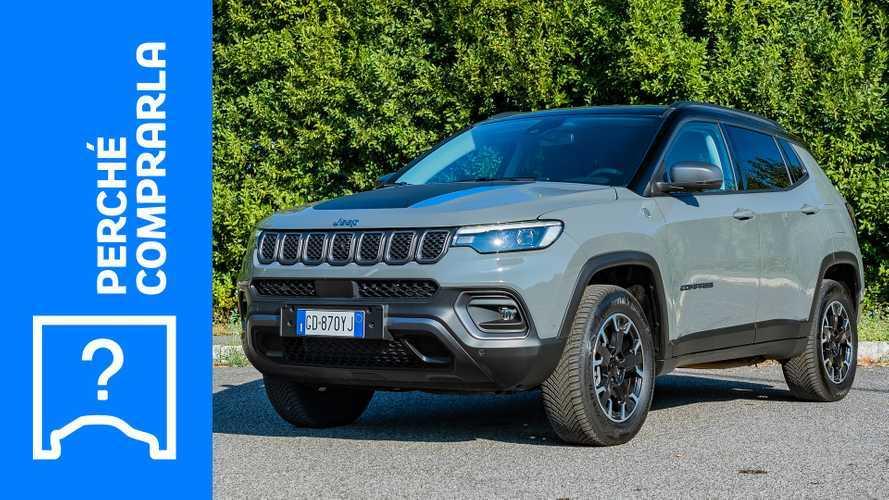 Jeep Compass (2021), perché comprarla e perché no