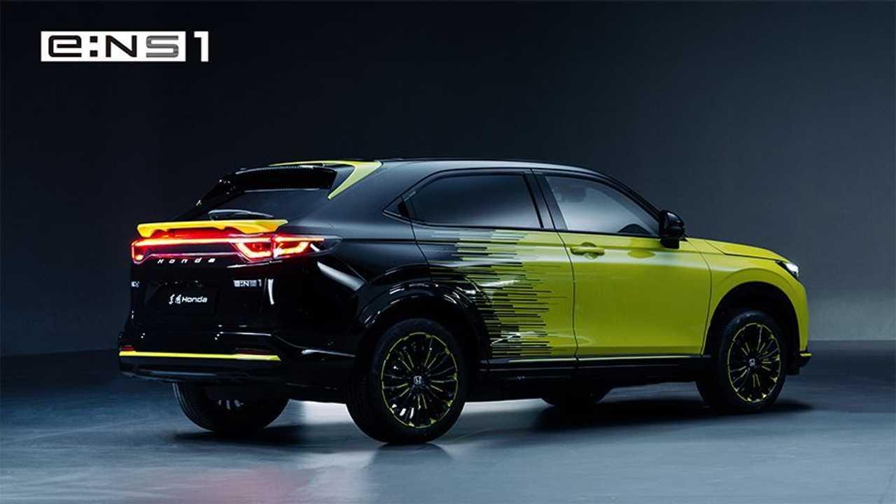 Honda e:N Series EV Concepts e:NS1