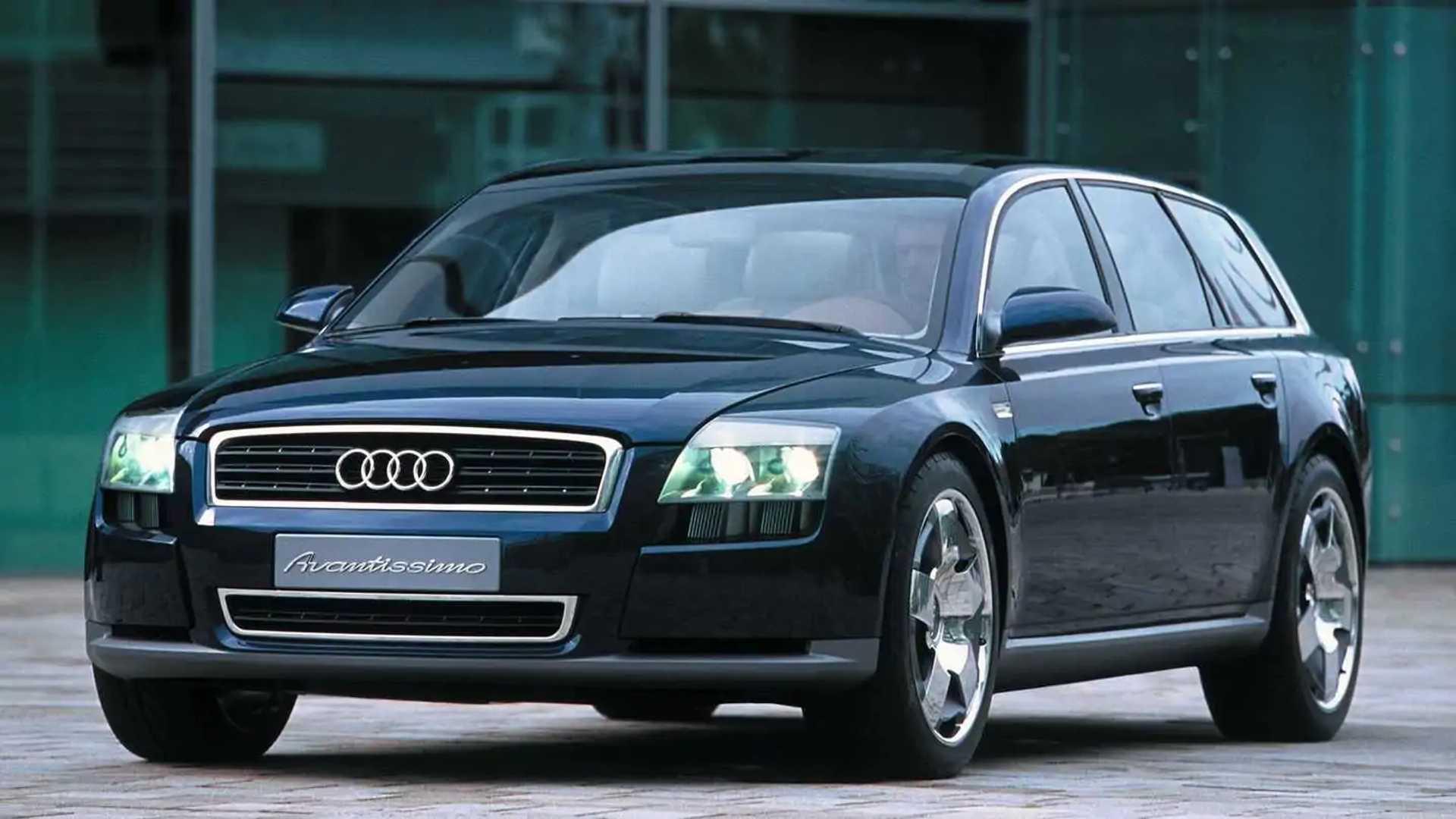 Concept oublié - Audi Avantissimo (2001)