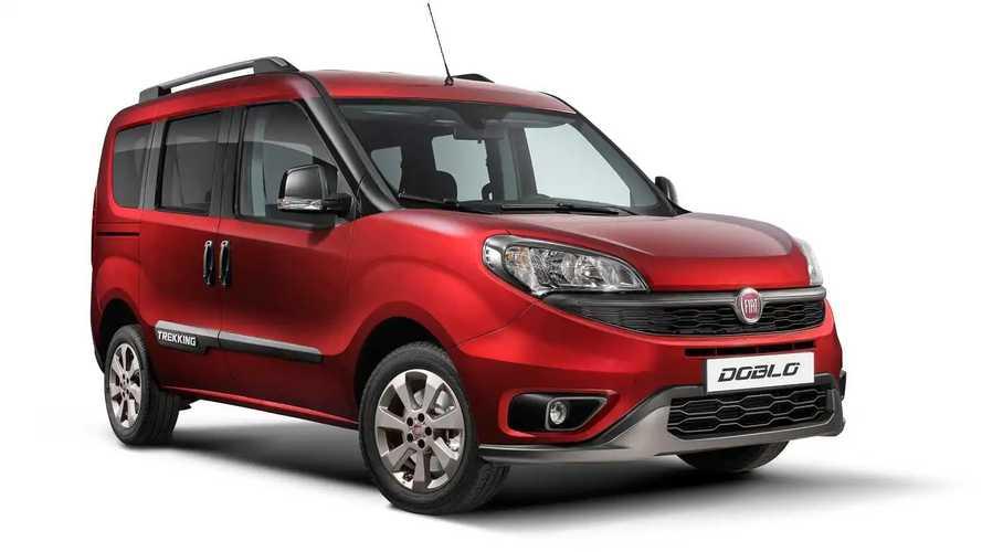 Yeni Fiat Doblo Trekking'in örtüsü kaldırıldı!