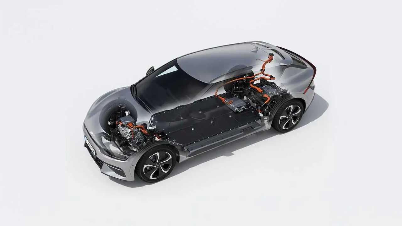 Kia EV6 battery