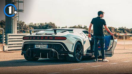 Bugatti Centodieci ride-along: Going 186 mph in a £6.8-million car is scary