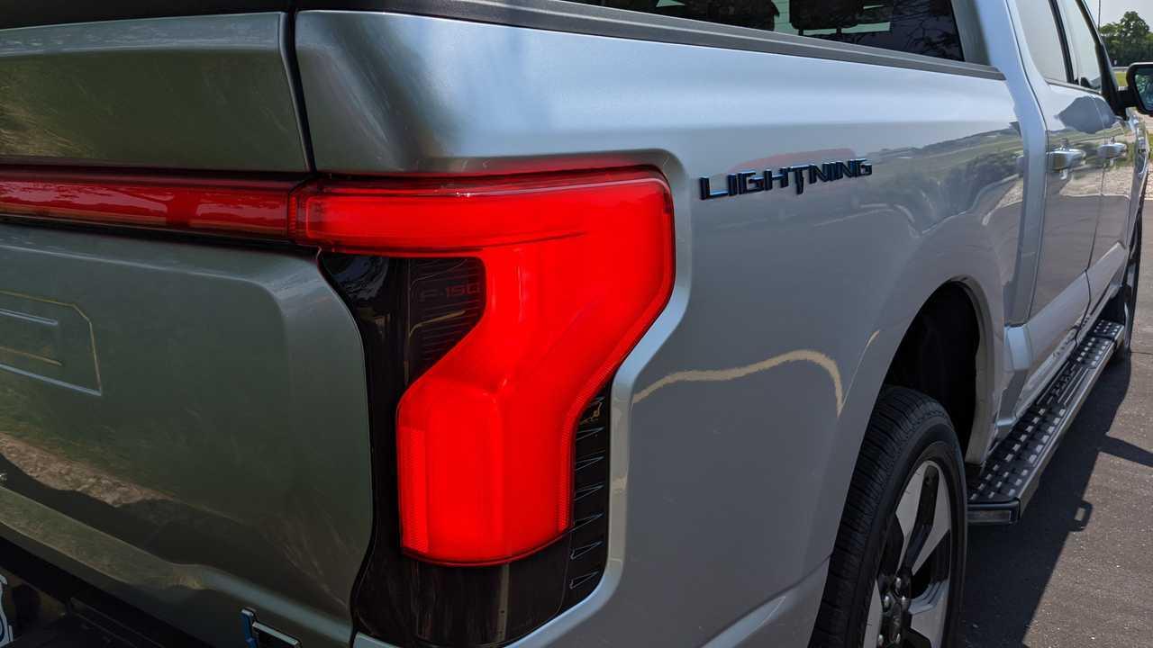 Ford F150 Lightning tail light