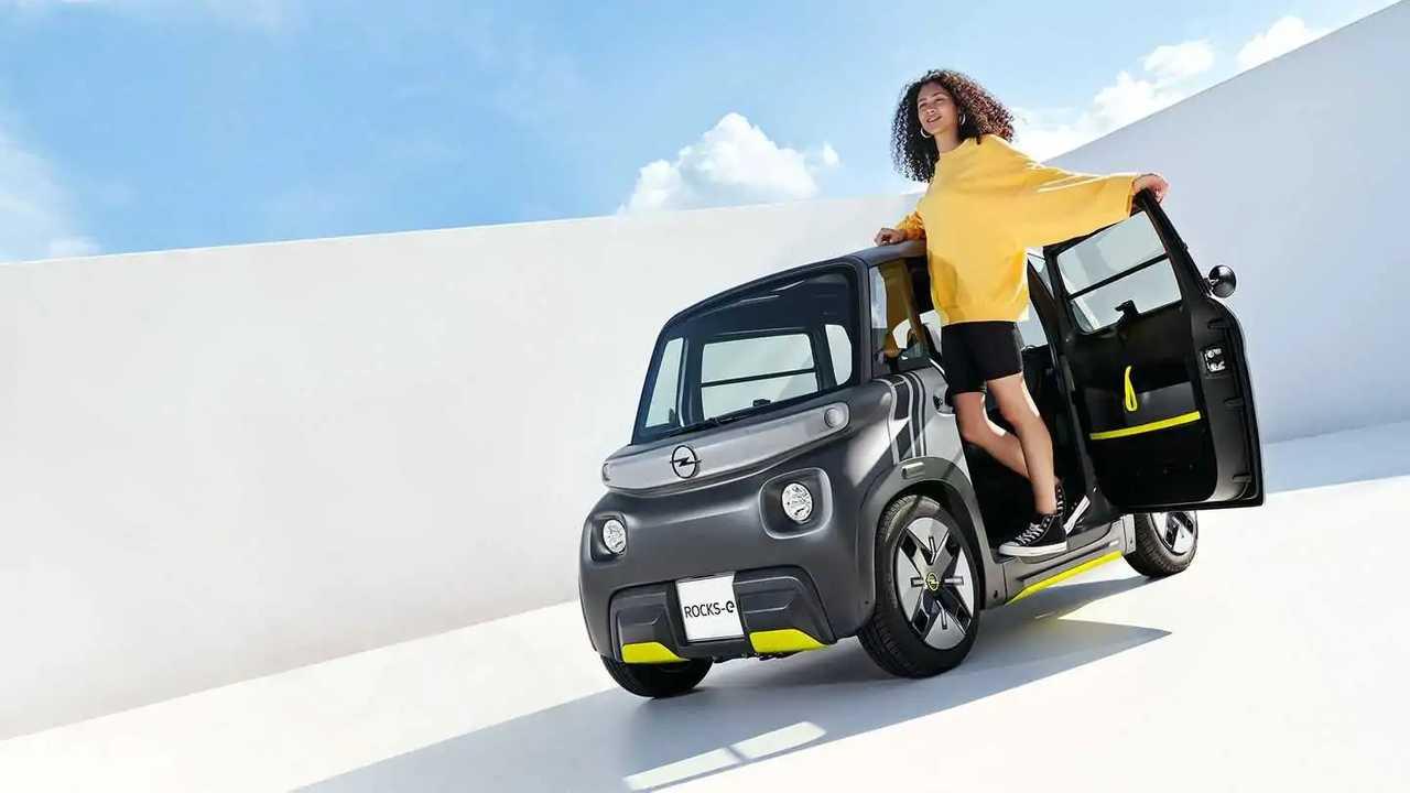 El nuevo Opel Rocks-e solo alcanza los 45 km/h