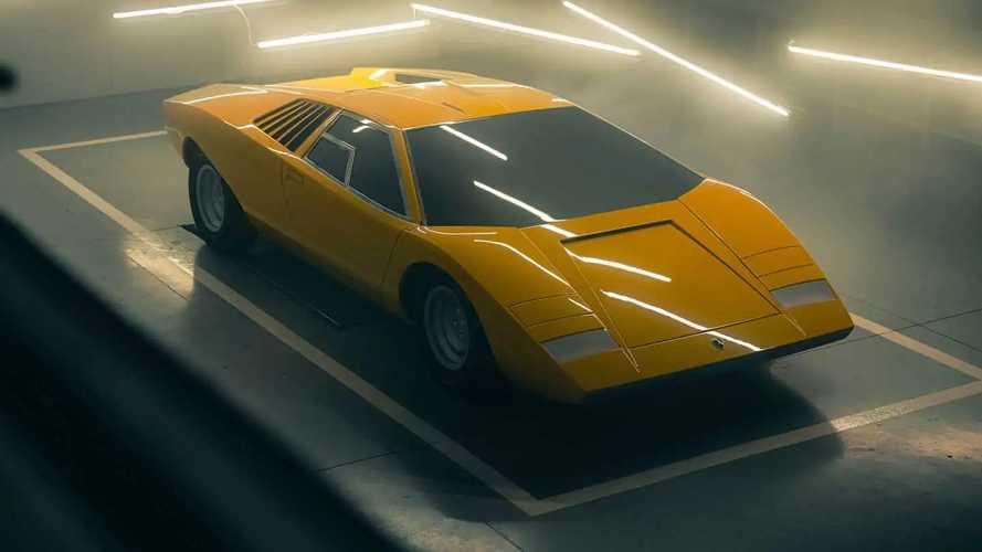Lamborghini restaura el primer Countach LP 500 de la historia