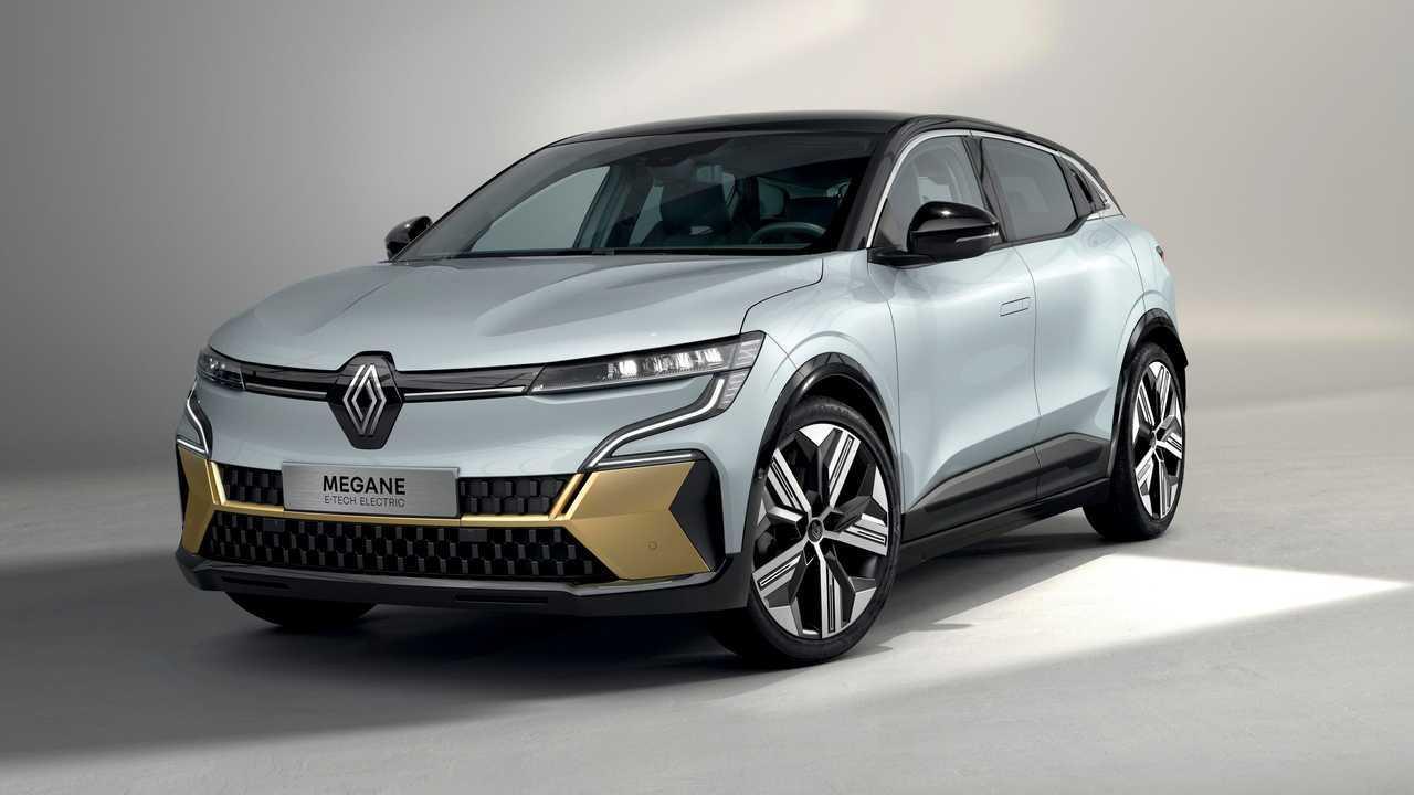 Der Renault Mégane E-Tech Electric ist 4,21 Meter lang