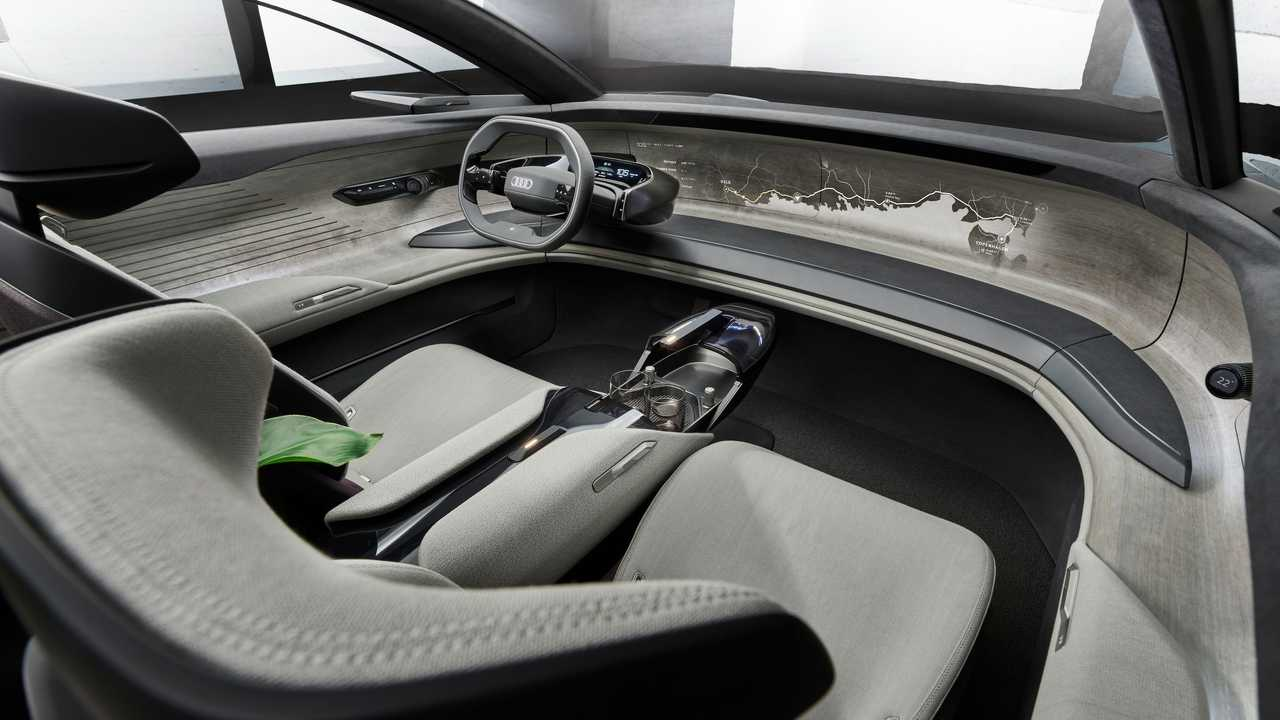 Audi Grandsphere Concept Interior