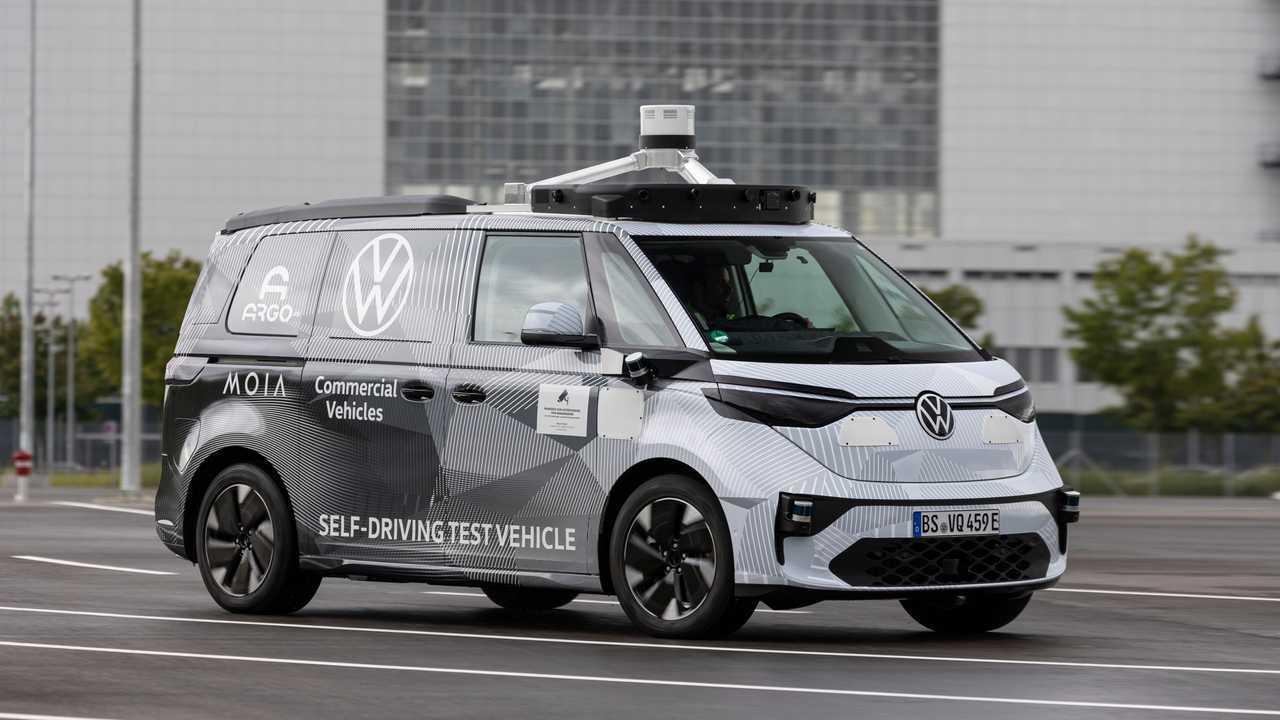 VW ID.Buzz AD: Erste Prototypen werden schon getestet