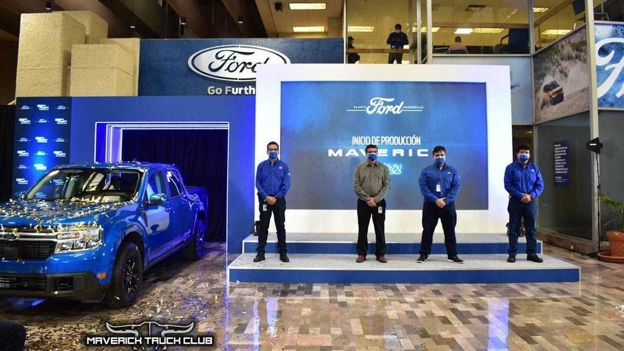 Ford Maverick resmi diproduksi.