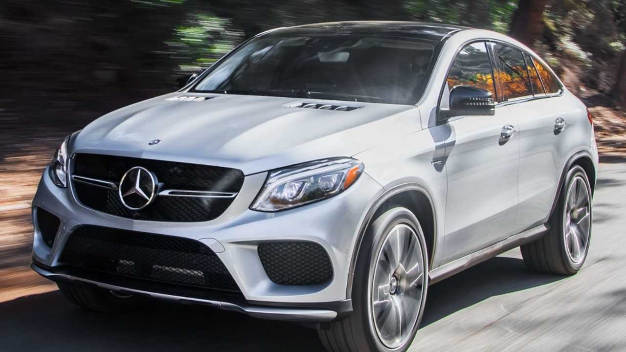 7. (Tie) Mercedes-AMG GLE43 Coupe