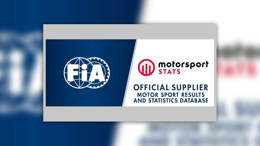 FIA appoints Motorsport Stats as Official Supplier