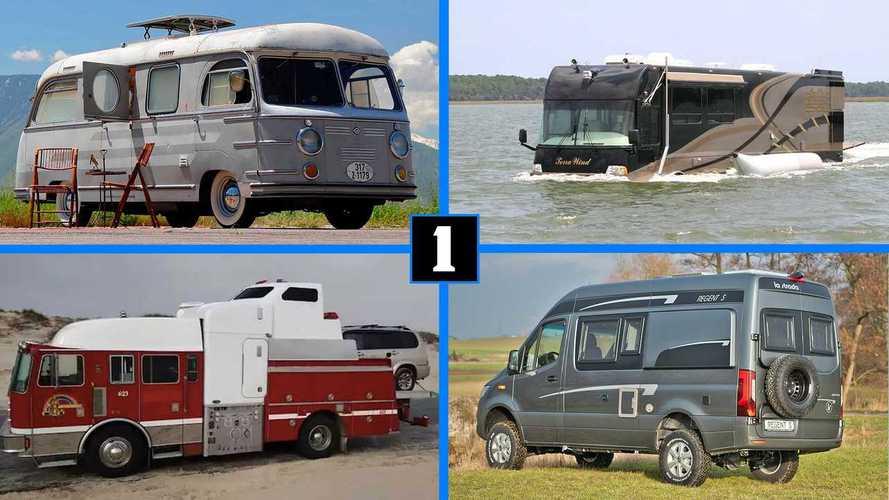 10 autocaravanas perfectas para las vacaciones