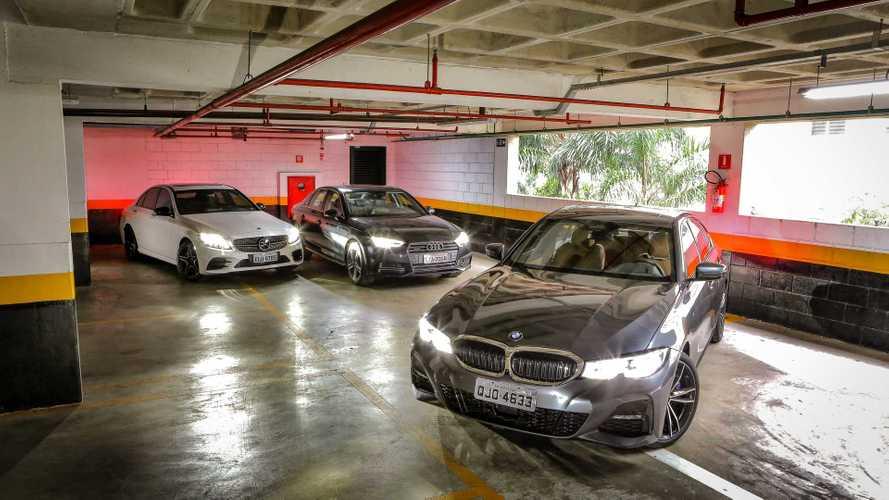 Comparativo: Novo BMW 330i encara Audi A4 e Mercedes C300