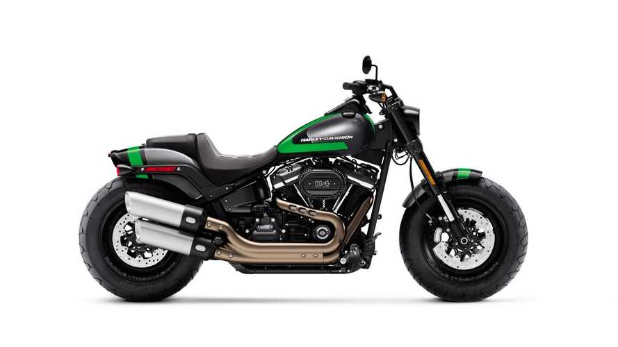 Harley Targets Performance Riders With Custom Paint Sets