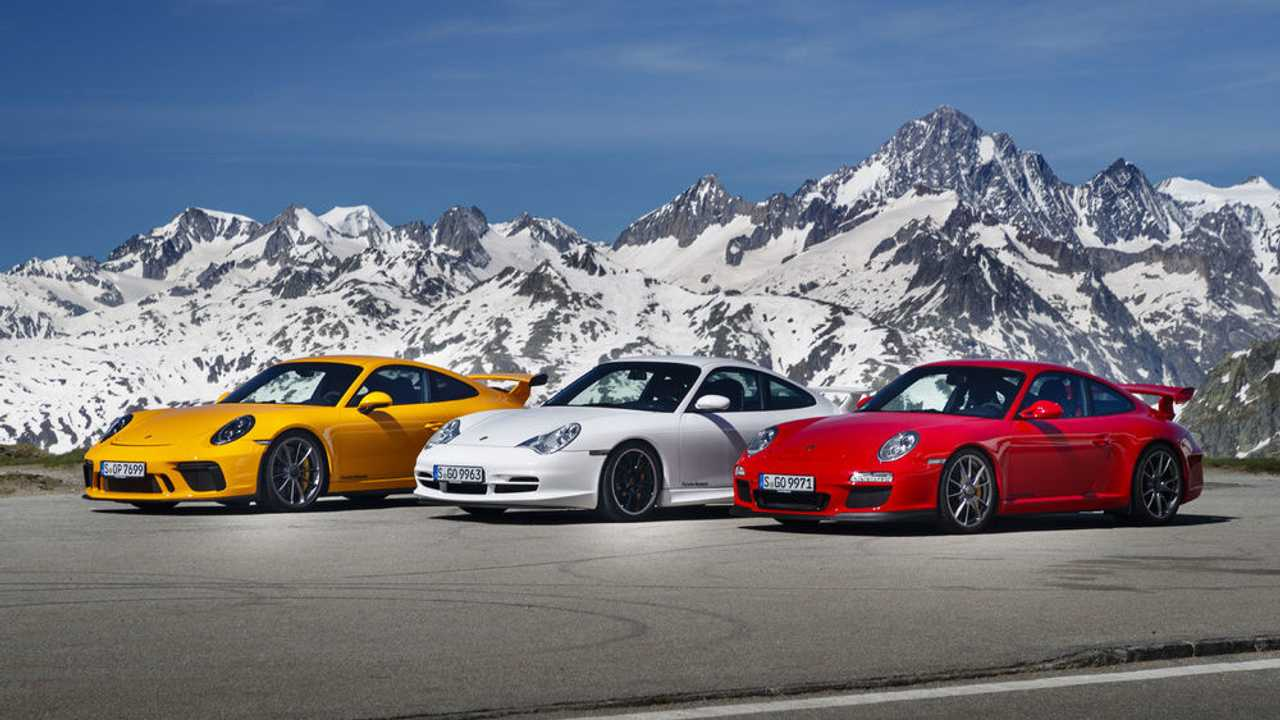 Track-Slaying Porsche 911 GT3 Celebrates 20 Years