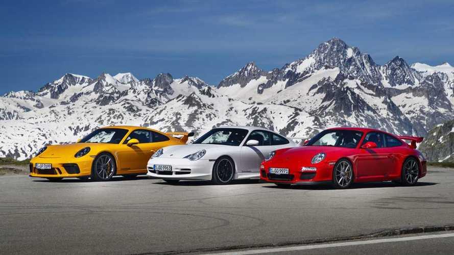 Track-Slaying Porsche 911 GT3 Celebrates 20 Years