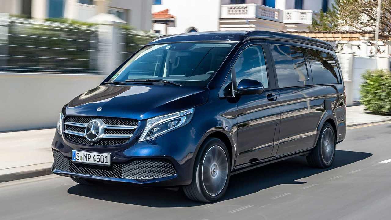 2019 Mercedes-Benz V-Class Marco Polo