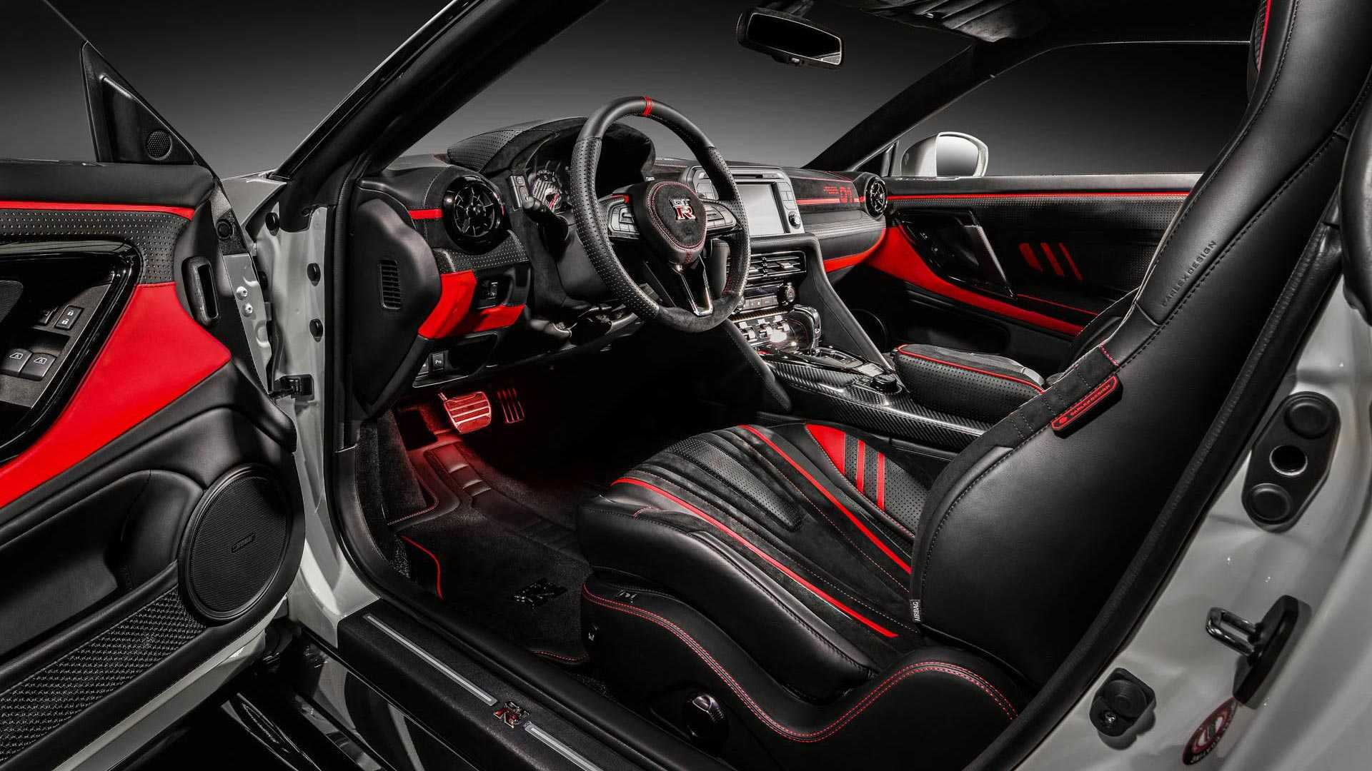 Nissan Gtr Interior >> Nissan Gt R Gets Vibrant Custom Interior From Carlex Design