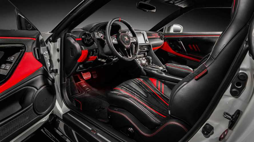 Nissan GT-R gets vibrant custom interior from Carlex