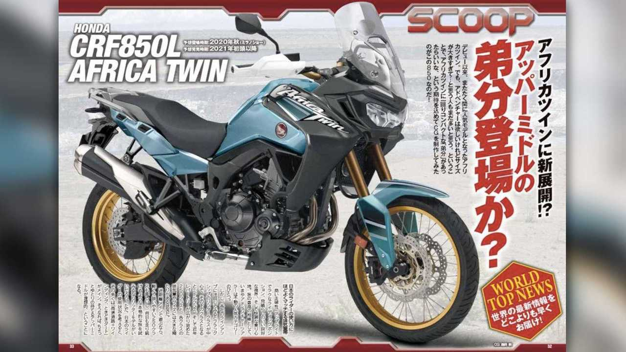 Honda Africa Twin 1100 And 850