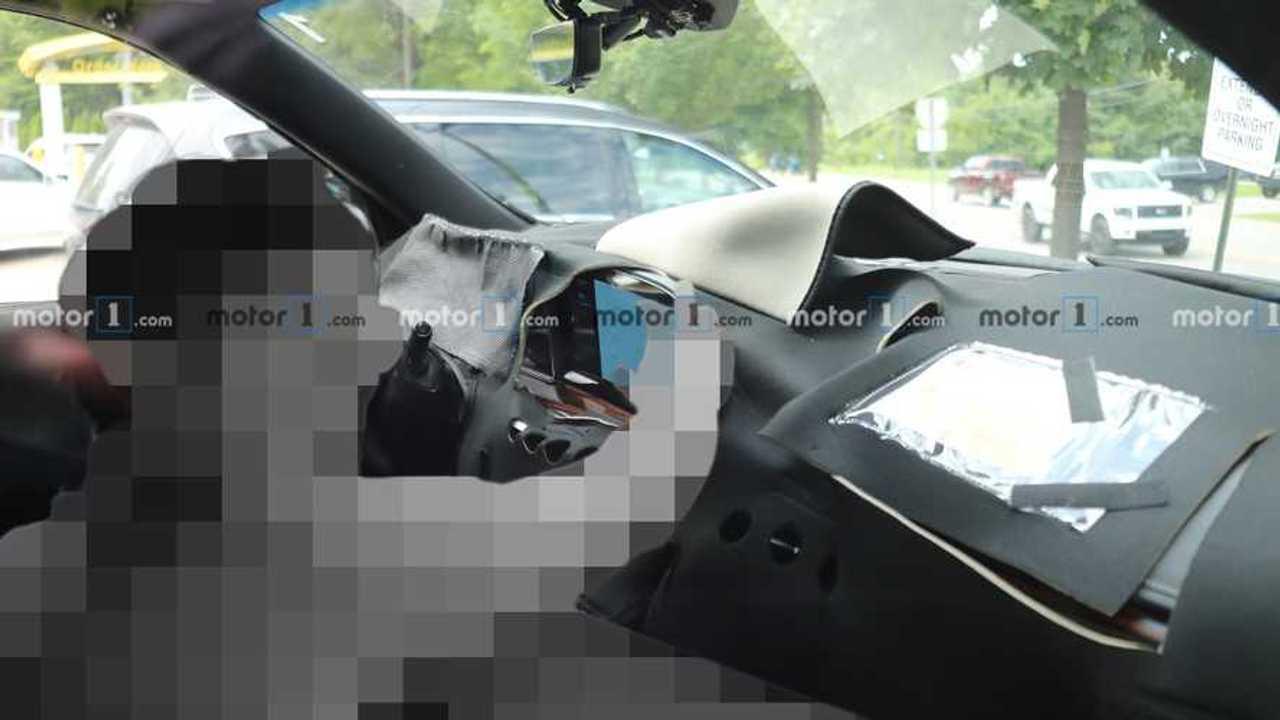 Cadillac Escalade Interior Spy Photo