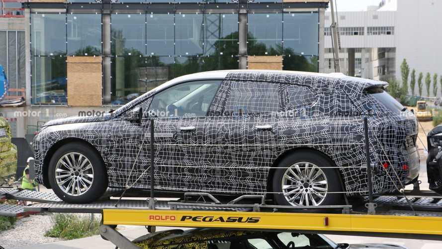 La BMW iNext débusquée
