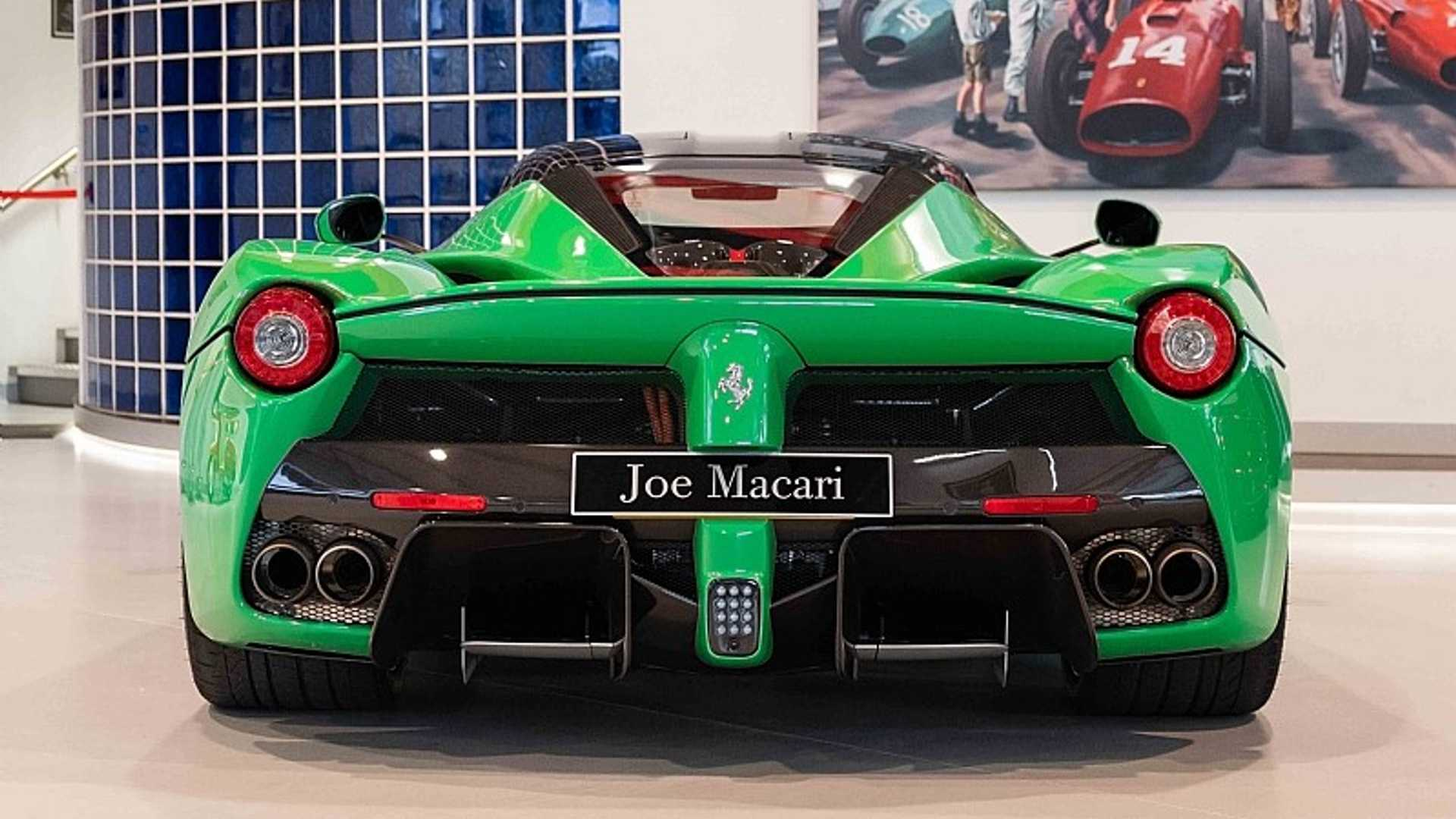 Jay Kays Green Laferrari Is For Sale