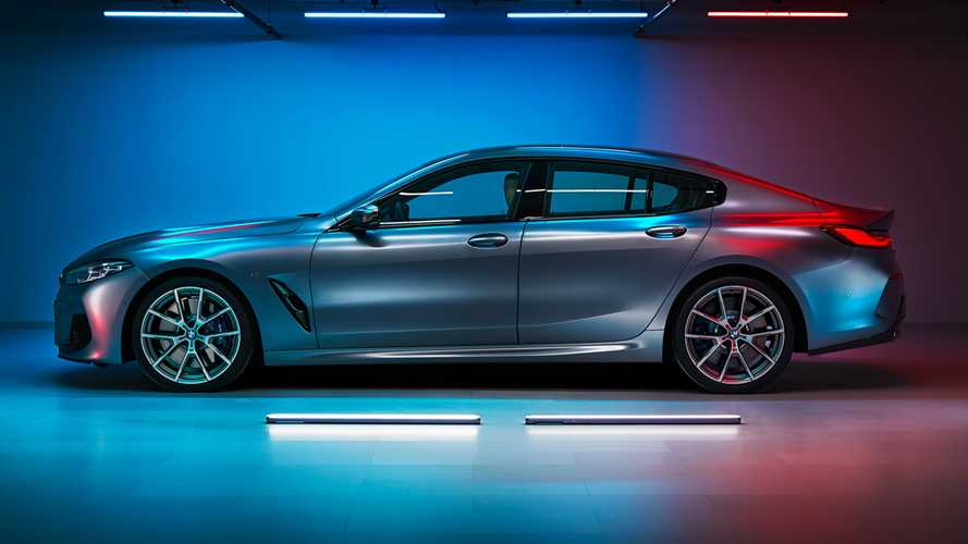 BMW 8 Series Gran Coupe videos show off the stylish saloon
