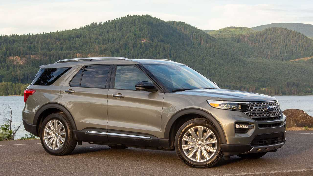 Full-Size Crossover SUV: 2020 Ford Explorer