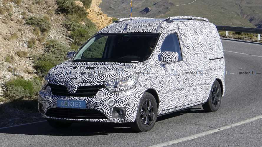 2020 Renault Kangoo Makes Spy Photo Debut [UPDATE]