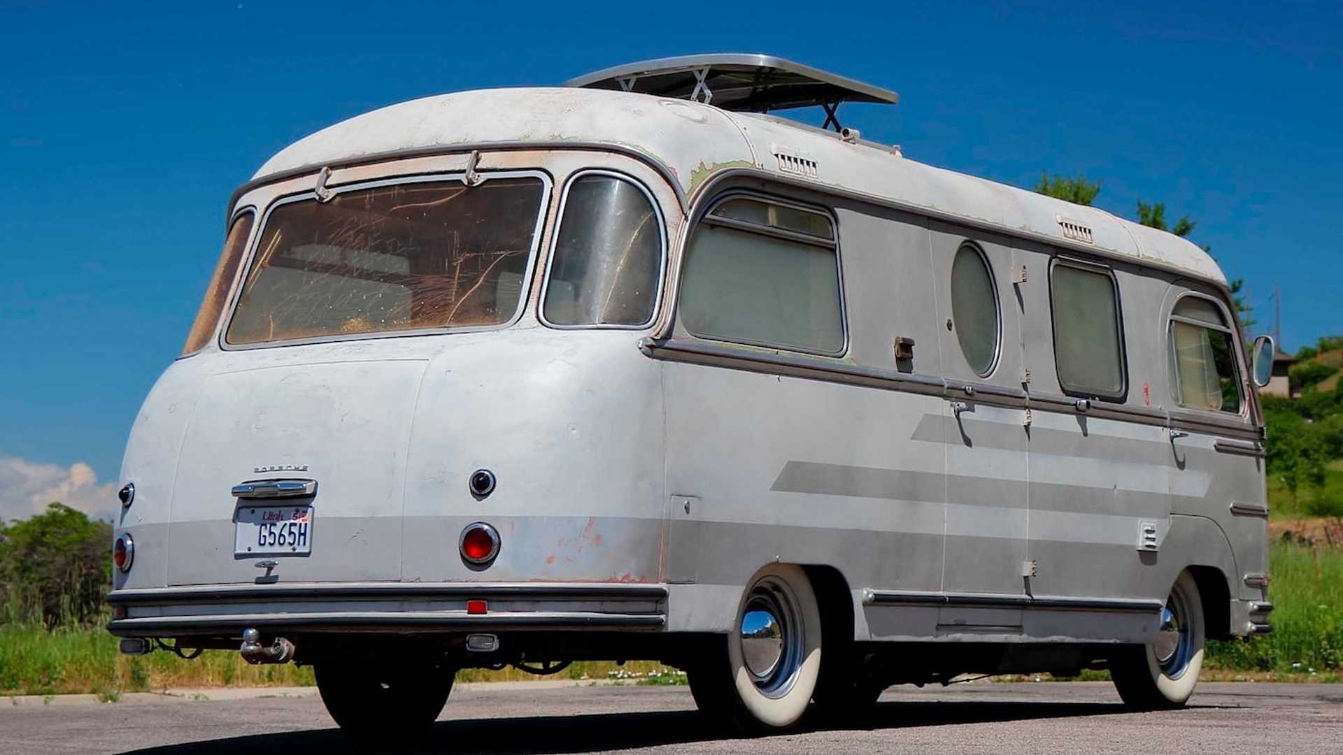 Buy This Porsche-Powered Vintage RV, Become A #VanLife Boss
