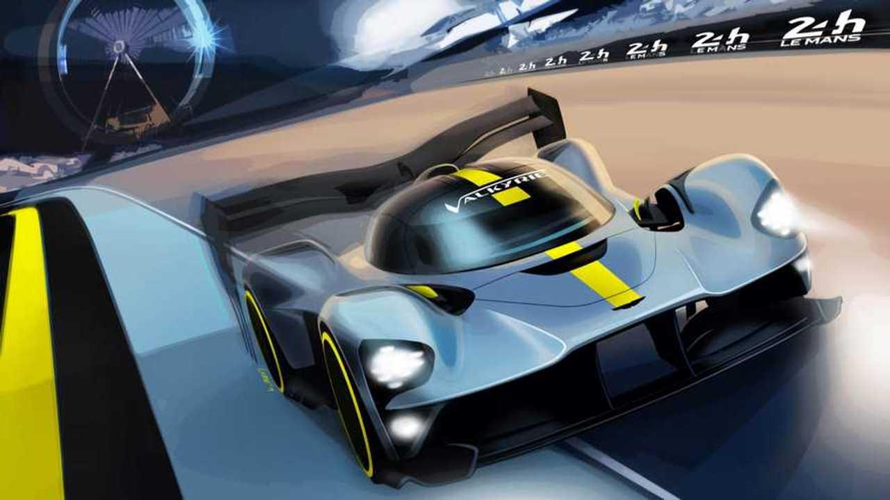 Aston Martin Valkyrie for Le Mans