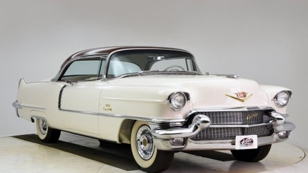 Eye candy 1956 cadillac coupe deville promises to turn heads