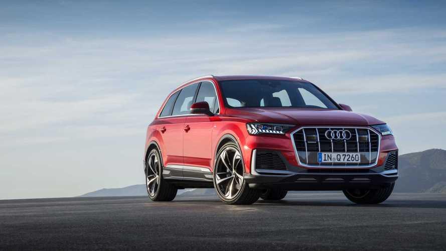 Módosított külsővel és technikai fejlesztéssekkel érkezik az új Audi Q7