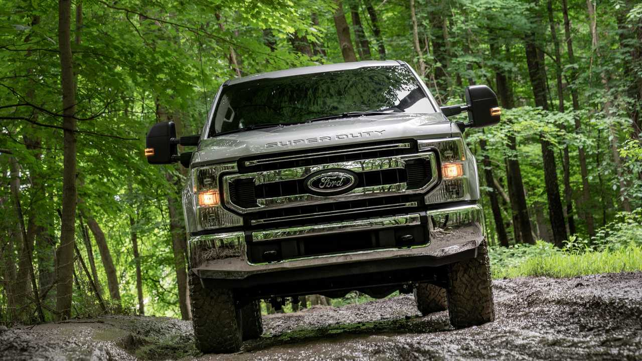 2020 Ford F Series Super Duty With Tremor Off Road Package