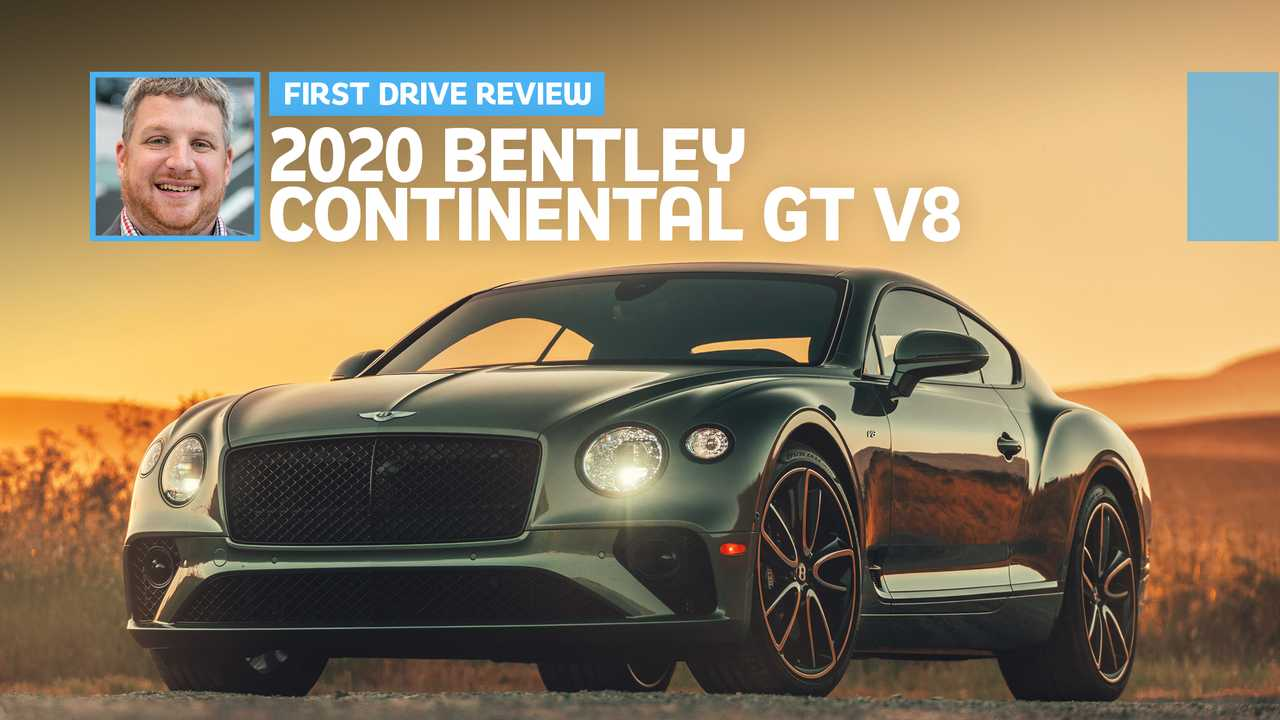 2020 Bentley Continental GT V8 First Drive Feature Image