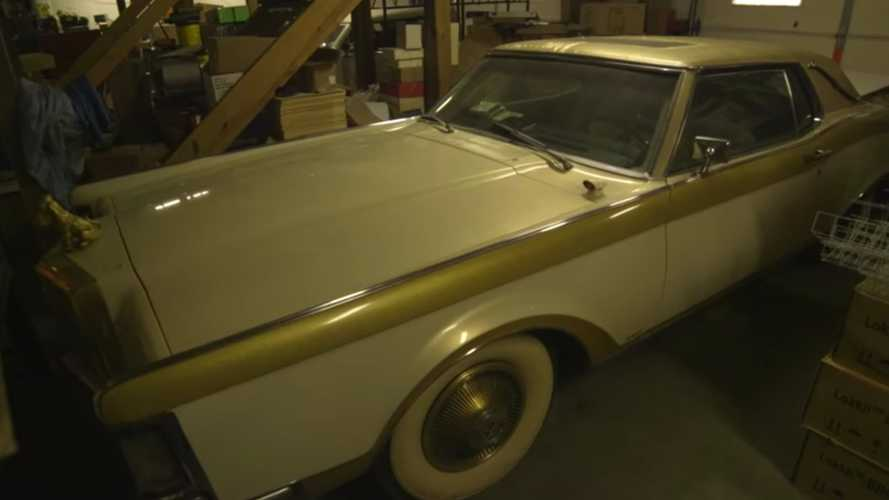 Elvis Presley Barn Find