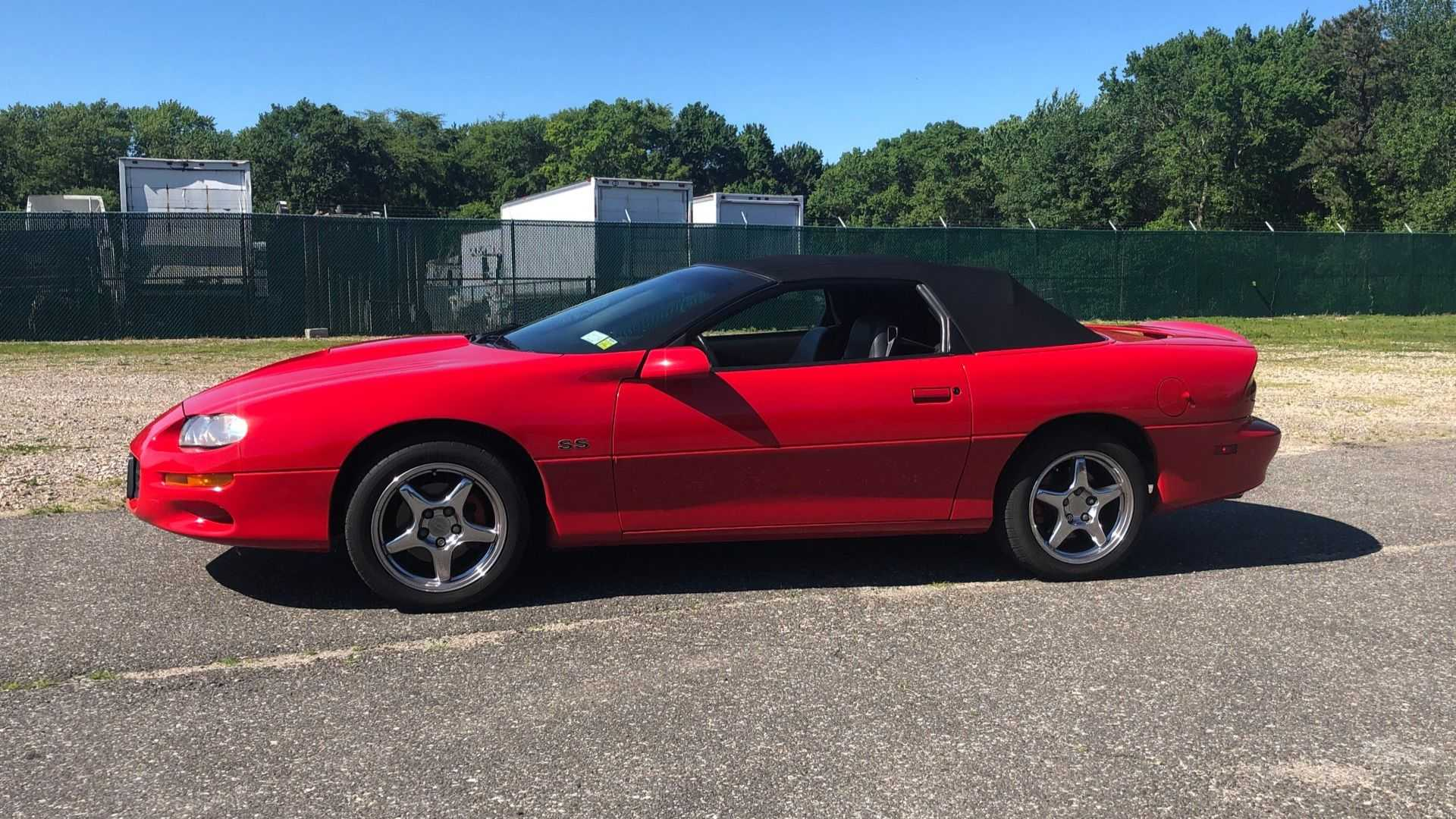 """[""""2000 Chevrolet Camaro SS Convertible Hits Hard With An LS1""""]"""